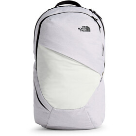 The North Face Isabella Sac à dos Femme, tnf white metallic melange/tnf black